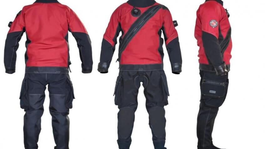 dry suit scuba diving