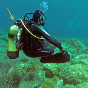 Safety Strap scuba diving