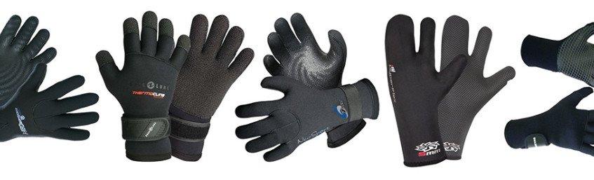 scuba diving gloves