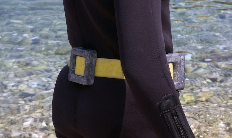 weight belt for scuba diving