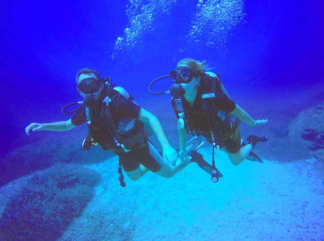 buddy system scuba diving