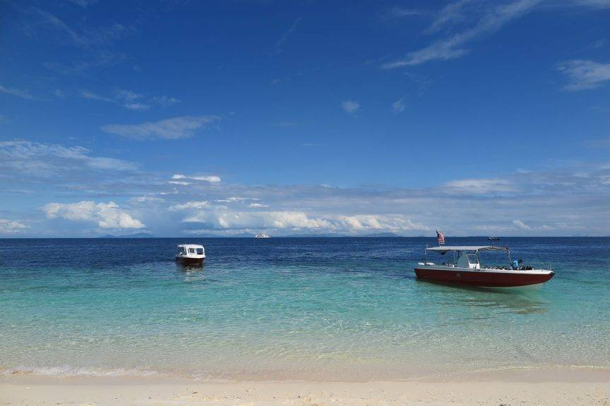 Diving in Sipadan Island